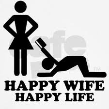 happy wife